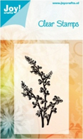Joy Crafts Clear Stamp - flower / leaf 4