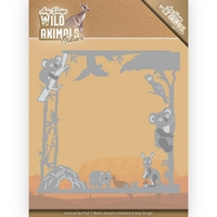 NEW Amy Design Wild Animals Outback Cutting Die - Koala Frame