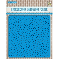 NEW Nellie Snellen Background Embossing Folders - Small Hearts