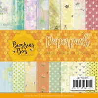 Jeanines Art Buzzing Bees Paper Pack as seen on TV