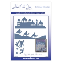 John Next Door Christmas Dies - O Little Town Scenes (3pcs)