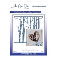 John Next Door Christmas Dies - Woodland Trees In Stock