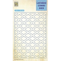 NEW Nellie Snellen Layered Combi Dies - Eastern Oval layer A