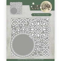 NEW Lilly Luna Cutting Die - Flowers to Love Frame