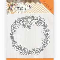 NEW Precious Marieke Spring Delight Cutting Die - Spring Delight Frame