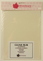 Clear Acetate Sheets